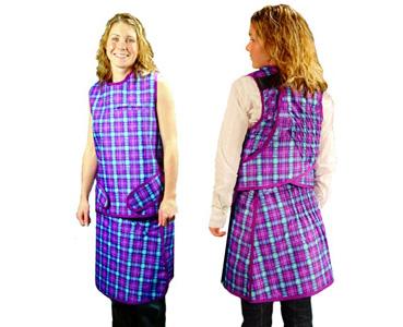 美国infab公司无铅射线女用弹背型双面防护衣B款